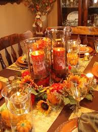 craft ideas for table centerpieces easy thanksgiving centerpieces