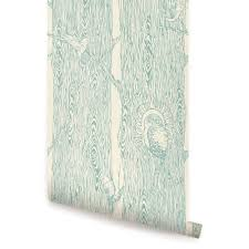 temporary wallpaper forest wallpaper mint peel and stick