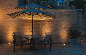 Hadco Landscape Lights Hadco Well Lights Grazing A Brick Wall Light A Few Candles And