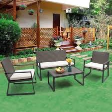 Rattan Patio Furniture Sets Rattan Patio Furniture Outdoor Seating Dining For Less