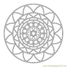 designing circle coloring free shapes coloring pages