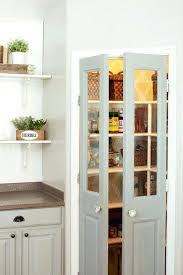Pantry Closet Doors Vintage Pantry Door A Bright And Airy Kitchen For Vintage Sliding
