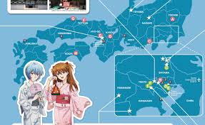 World Map Japan by Mcm Buzz U2013 Movies Tv Comics Gaming Anime Cosplay News