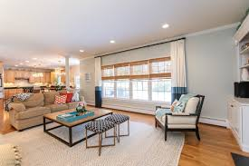 colonial open floor plan modern colonial style massachusetts home