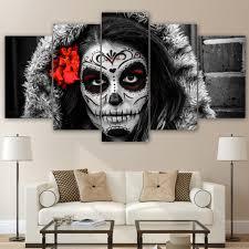 Cheap Framed Wall Art by Popular Skull Framed Canvas Wall Art Buy Cheap Skull Framed Canvas