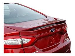 2013 ford fusion spoiler amazon com ford fusion spoiler painted in the factory paint code