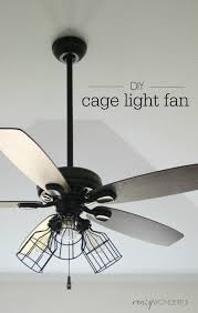 ceiling fan with cage light 3751 astonbkk com