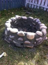 Firepit Rocks River Rock Pit Actually Realistic How Cool Would This Be
