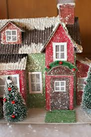 decorated paper mache house posted by judy cutest little things