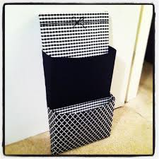 diy wall organizer canvas poster board and fabric things i