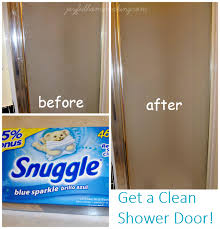 Clean Shower Doors Bathroom Cleaning Tips Joyful Homemaking