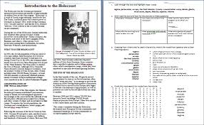 worksheet introduction to the holocaust u2013 duffy stirling u0027s
