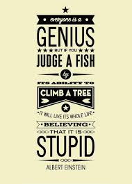 quote einstein everyone is a genius everybody is a genius poster fine everybody is a genius poster 7