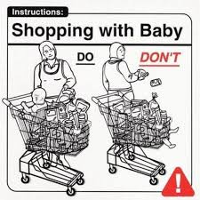Bad Father Meme - shopping with baby dad meme meme and humor