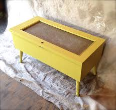 Shabby Chic Coffee Table by Chartreuse Mod Shabby Chic Coffee Table With Storage Oh Glory