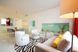 Miami Beach Vacation Apartment Interior Design By Avram Rusu New - New york apartments interior design