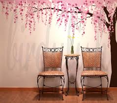 wall decals cherry tree color the walls of your house wall decals cherry tree cherry blossom wall decals tree decals baby nursery by birdyfish