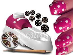 2014 new fashion hollywood nails all in one nail art system nail
