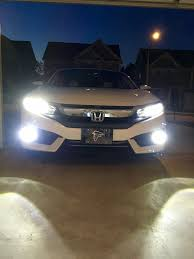 What Kind Of Light by What Kind Of Led Headlight Fog Light Do You Use 2016 Honda