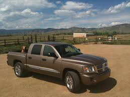 Lifted Dodge Dakota Truck - review 2010 dodge dakota laramie good on the job but expensive if