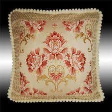 antique victorian floral shabby chic velvet chenille rug