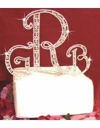 k cake topper monogram wedding cake toppers advantagebridal