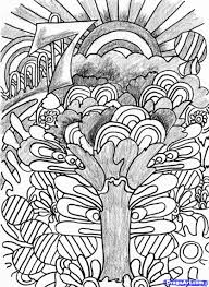 14 images of trippy coloring pages doodle art psychedelic art