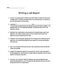 biology lab report template how to write a lab report lab report template school stuff