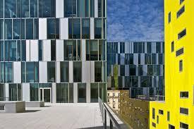 metro bureau etienne la cite des affaires office building in etienne by manuelle