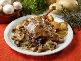 cuisiner cuisse de canard confite confit de canard aux chignons