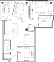 New Floor Plans by West Block Glenora New Luxury Edmonton Condos Professional