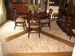tile in dining room 25 tile flooring ideas for dining room euglena biz