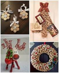 wine cork craft ideas tree card holder wine