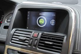 volvo vehicle locator volvo cars launches world first in dash voice activated spotify