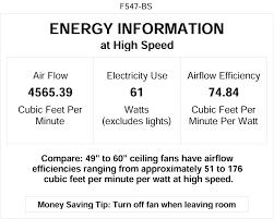 Model Ac 552 Ceiling Fan by Minka Aire F547 Bs Contractor 52