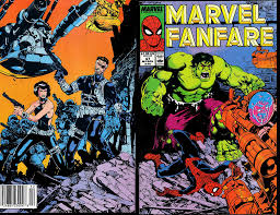 marvel thanksgiving marvel comics of the 1980s 1989 anatomy of a cover marvel