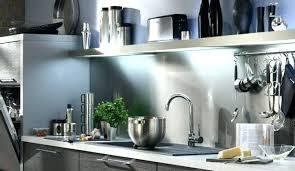 barre inox cuisine barre inox cuisine barre de credence pour cuisine cuisine blanche