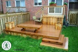 Corner Deck Stairs Design Two Level Backyard Deck Ideas Corner Deck Steps Default