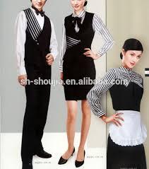 uniforme femme de chambre hotel hommes femmes hôtel uniforme pour le personnel buy product on