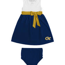college ga tech yellow jackets kids dresses and skirts georgia
