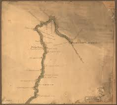 Ohio Rivers Map by Map Of The Ohio River From Fort Pitt World Digital Library