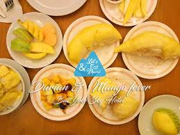 la cuisine d ugo review ก นแบบเบาๆ บ ฟเฟ ต ท เร ยน มะม วงฟ เวอร durian mango