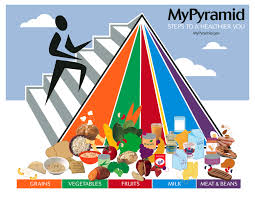 a natural health and nutrition pyramid healthy concepts with a