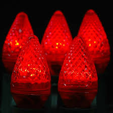 red c7 led christmas lights dimmable c7 led red replacement christmas lights novelty lights inc