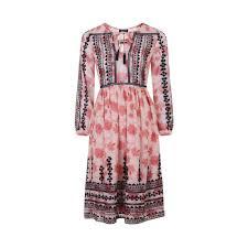topshop dress kate middleton s topshop pink black embroidered dress