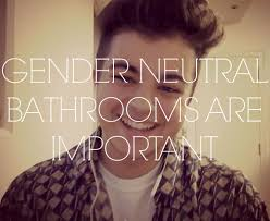 transgender topics gender neutral bathrooms are important youtube