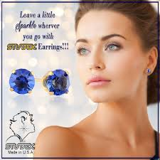 www studex leave a sparkle wherever you go with studex earrings for