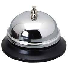 sparco call bell black base silver bell office