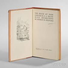 milne alan alexander 1882 1956 winnie the pooh four first