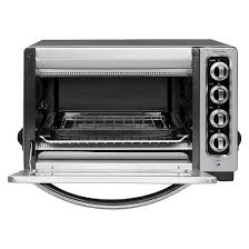 kitchenaid toaster oven kitchenaid 12 convection countertop oven kco223 target